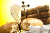 Sacrament of communion — Stock Photo