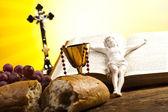 Symbol christianity religion — Stock Photo
