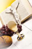 Christelijke heilige communie — Stockfoto