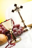 Sacrament of communion — Stock Photo