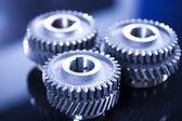Gear wheels system — Stock Photo