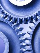 Gear wheels system — Stock Photo