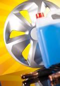 Car battery — Stock Photo