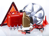 Set of Car Accessories — Stock Photo