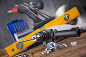 Set of Working tools — Stock Photo
