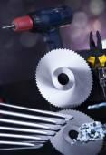 Natürmort Oluşturucu araçları ile — Stok fotoğraf