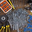 Assorted work tools — Stock Photo #71072747