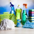 Set of Cleaning products — Stock Photo #71078125