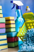 Assortment of Cleaning products — Stock fotografie
