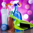 Variety of cleaning products — Stock Photo #71082565
