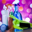 Assorted cleaning products — Stock Photo #71082577
