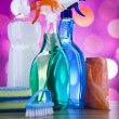 Assorted cleaning products — Stock Photo #71082629