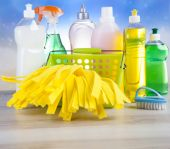 各種洗浄剤 — ストック写真