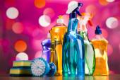 Set of Cleaning supplies — Stock Photo