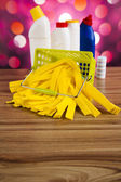 Washing and cleaning stuff — Stock Photo