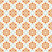 Seamless vector pattern of geometric spiral elements — Stockvektor
