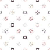Seamless vector pattern of geometric elements — Stok Vektör