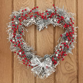 Yule Wreath — Stock Photo