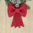 Red Bow Decoration — Stock Photo #52928343