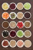 Diet Superfood Selection — Stock Photo