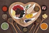 Healthy Immune Boosting Food — Stock Photo