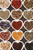 Bitkisel çay seçimi — Stok fotoğraf