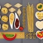 Mediterranean Food Collage — Stock Photo #61357781