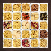 Large Pasta Sampler — Stock Photo