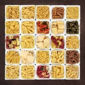 Large Pasta Sampler — Stockfoto