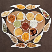 Snack Food Platter — Stock Photo