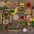Chilli Spices and Herbs — Stock Photo #62465983