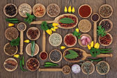 Chilli Spices and Herbs — Stock Photo