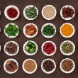 Herb and Spice Collection — Stock Photo #63109995
