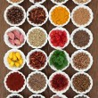 Large Herb and Spice Sampler — Stock Photo #64274033