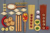 Italian Food Sampler — Stock Photo
