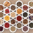 Herb Tea Sampler — Stock Photo #65713119