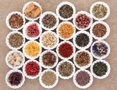 Herb Tea Sampler — Stock Photo