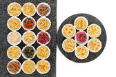 Pasta Selection — Stock Photo