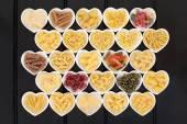 Italian Pasta Sampler — Stock Photo
