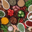 Herb and Spice Sampler — Stock Photo #66353313