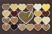 Grain Food Sampler — Stock Photo