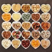 Savoury Snacks — Stock Photo