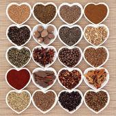 Middle Eastern Spice Sampler — Stock Photo