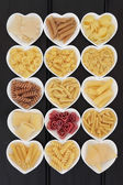 Italian Pasta Selection — Stock Photo