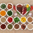 Herb and Spice Sampler — Stock Photo #75270559