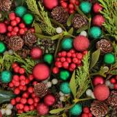 Baubles and Flora — Stock Photo