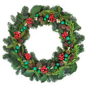 Christmas Welcome Decoration — Stock Photo