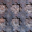 Old decorative door — Stock Photo #54737437