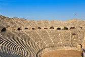 Ruins of the ancient amphitheater  — Stock Photo