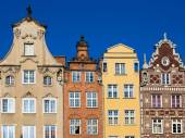 Colorful houses  — Stock Photo